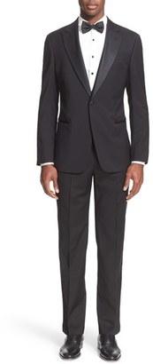 Men's Armani Collezioni Trim Fit Wool Tuxedo $1,895 thestylecure.com