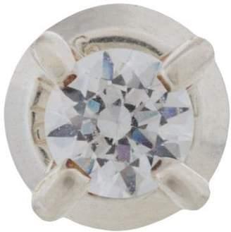 E.m. embellished stone earring