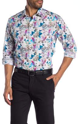 Robert Graham Flying Colors Long Sleeve Classic Fit Shirt