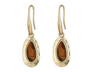 The Sak Small Stone Drop Earrings