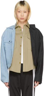 Gosha Rubchinskiy Multicolor Three-Way Hybrid Jacket