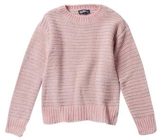 Freshman Long Sleeve Chenille Sweater (Big Girls)