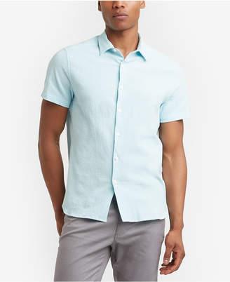 Kenneth Cole New York Kenneth Cole Men's Seersucker Shirt