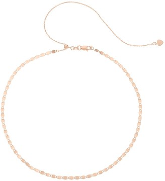 Valentino Unbranded 14k Gold Chain Choker Necklace