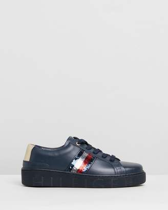 Tommy Hilfiger Sequins Fashion Sneakers - Women's