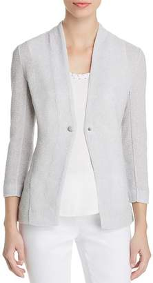 Nic+Zoe Petites One For All Textured Knit Blazer