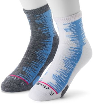 Men's adidas 2-pack Frequency ClimaLite High Quarter Socks $18 thestylecure.com