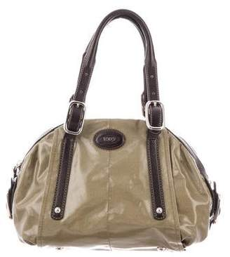 Tod's Patent Leather Satchel
