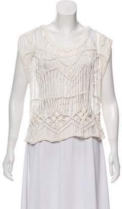 Matta Braided Short Sleeve Top w/ Tags