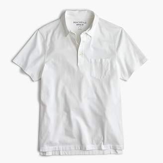 J.Crew Tall Mercantile Broken-in pocket polo shirt