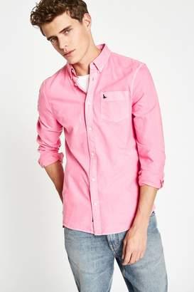 Jack Wills Atley Garment Dyed Oxford Shirt