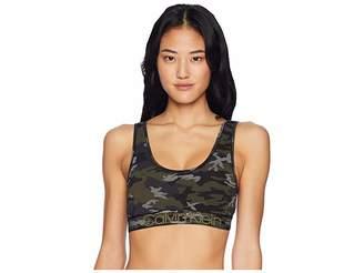 Calvin Klein Underwear Modern Cotton Camo Bralette