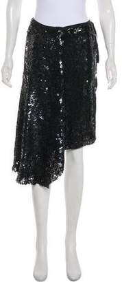 Ann Demeulemeester Knee-Length Sequined Skirt