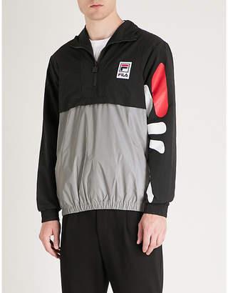 Fila Mindblower Reece logo-print shell jacket
