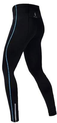 its-all-goods Men's Long Bike Cycling Pants - Large (blue trim)