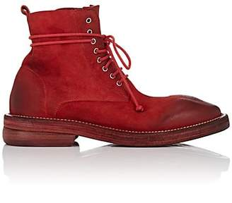 Marsèll Women's Suede Ankle Boots - Red