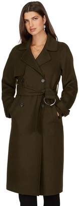 TRISTAN Wool Blend Trench