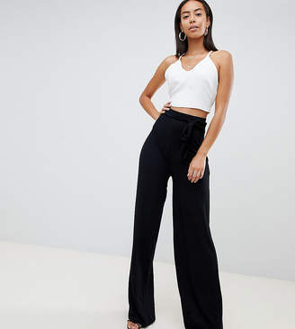 Missguided Tall Wide Leg Trousers