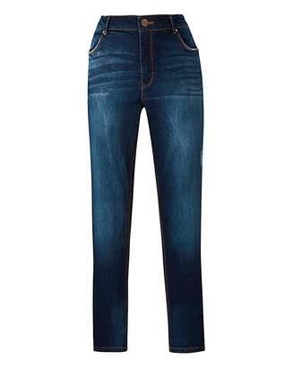 Fashion World Petite Indigo Sadie Slim Leg Jeans