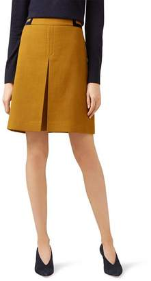 Hobbs London Celia Velvet-Trim Skirt - 100% Exclusive