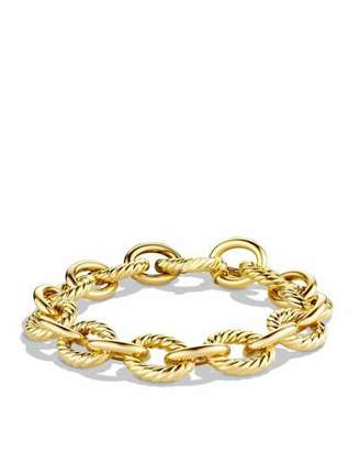 David Yurman Large Oval Link Chain Bracelet