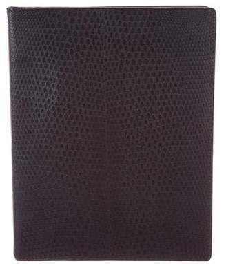 Bottega Veneta Embossed Leather Agenda Cover