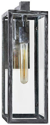 Visual Comfort & Co. Fresno Outdoor Sconce - Worn Zinc