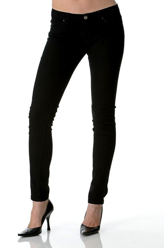 Blank Studded Skinny Jean in Black