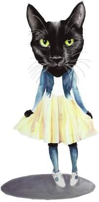 Jimbob Art - Cat Doll Print