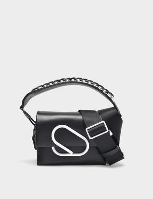 3.1 Phillip Lim Alix Micro Sport Bag in Black Lambskin