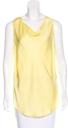 3.1 Phillip Lim Silk Cowl Neck Top