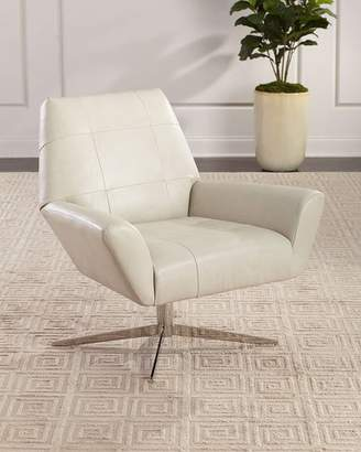 Bernhardt D'Angelo Leather Swivel Chair