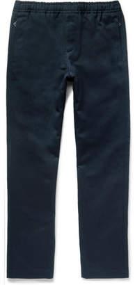 Joseph Ettrick Cotton And Linen-Blend Twill Drawstring Trousers
