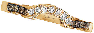 Le Vian 14ct Strawberry Gold Diamond Shaped ring