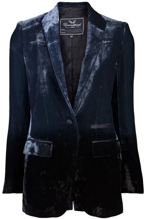 Unconditional VELVET BLAZER