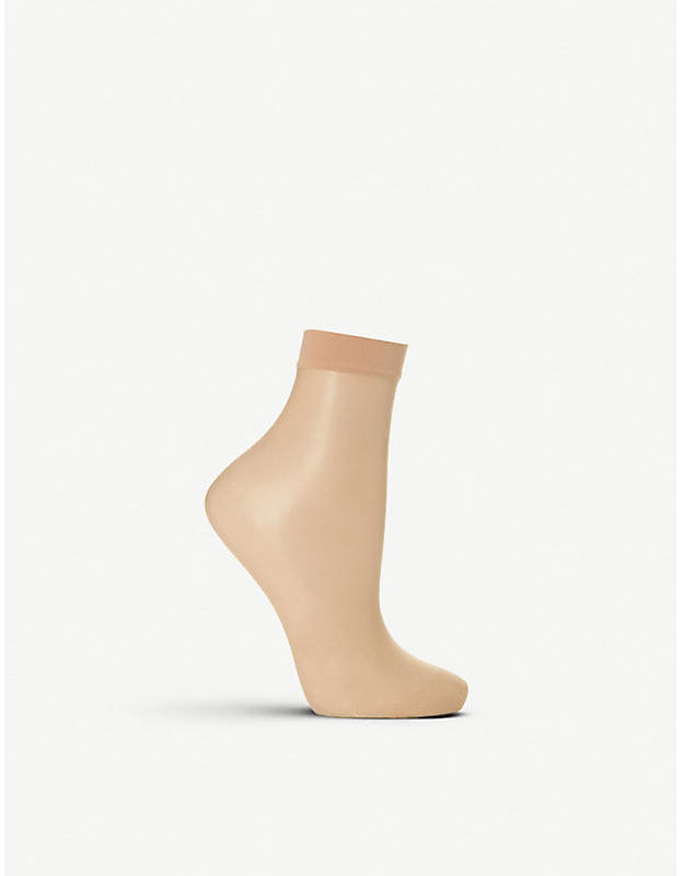 Wolford Nude 8 denier socks