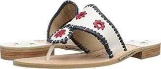 Jack Rogers Women's Patriotic Flat Sandal