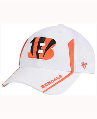 '47 Brand Cincinnati Bengals White Arc MVP Cap $24.99 thestylecure.com