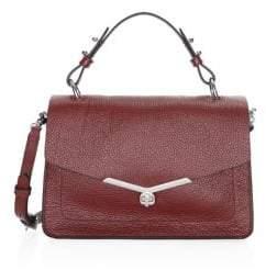 Botkier New York Valentina Leather Flap Satchel