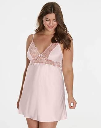 Pretty Secrets Ella Lace Blush Slip Petticoat Chemise