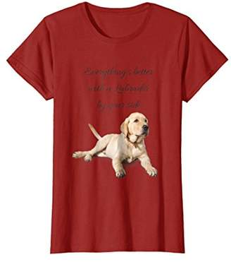 Everything's better with a Labrador by your side T-Shirt