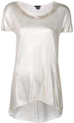 Avant Toi metallic effect T-shirt