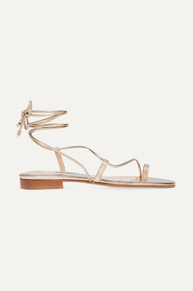 Emme Parsons Susan Metallic Leather Sandals - Gold