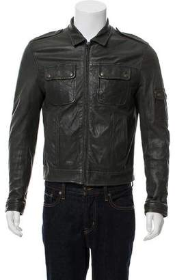 Rag & Bone Leather Casual Jacket