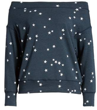 Sundry Star Off the Shoulder Pullover