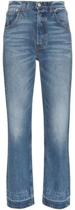 Reformation cynthia distressed jeans