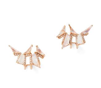 Nak Armstrong Pagoda Ear Cuffs Earring