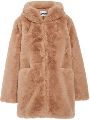 Apparis Marie Faux Fur Hooded Coat Size: XS