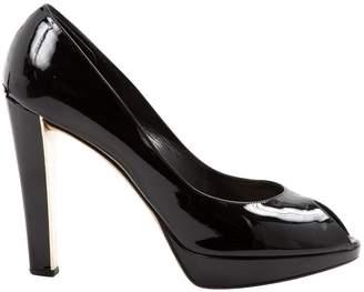 Christian Dior Black Patent leather Heels