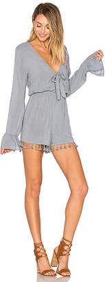 ale by alessandra Livia Romper in Slate $168 thestylecure.com